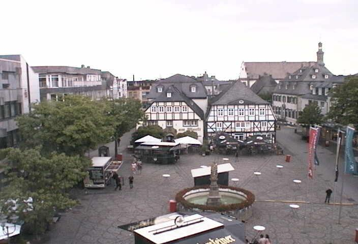Webcam Brilon - Marktplatz Brilon