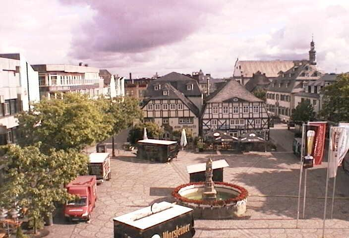 Webcam Sauerland - Marktplatz Brilon