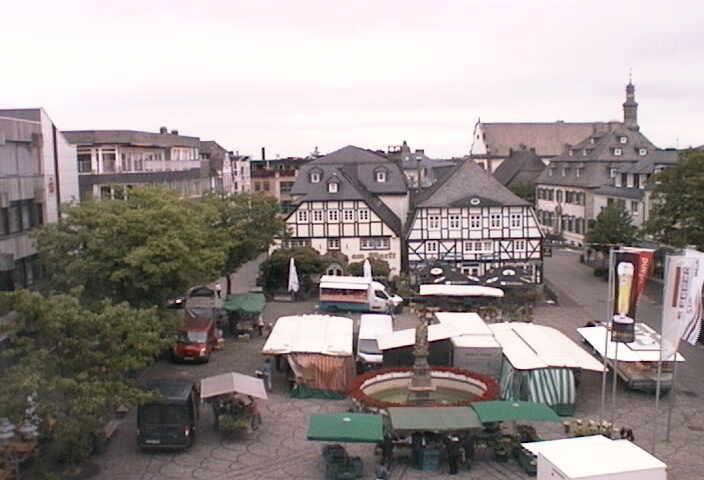 Webcam Brilon - Marktplatz Brilon